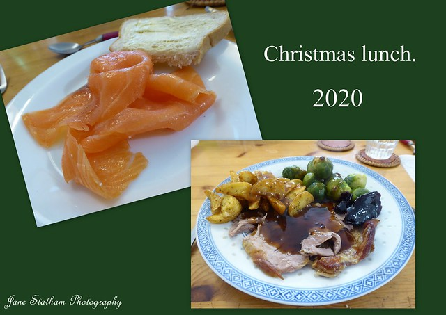 Our Christmas lunch.