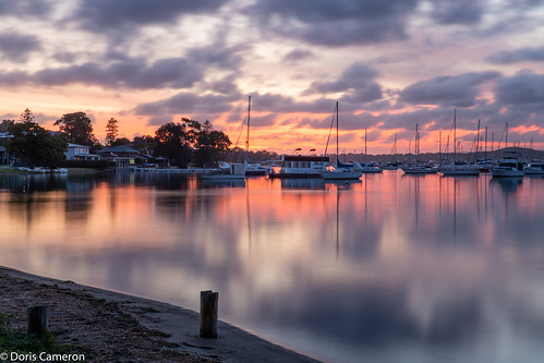 lakemacquarie longexposure tamron2470f28 valentine the0doraphotography canoneosr sunset cloudy