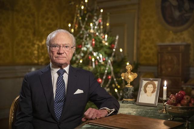 Kerstboodschap Koning Carl Gustaf van Zweden (2020)