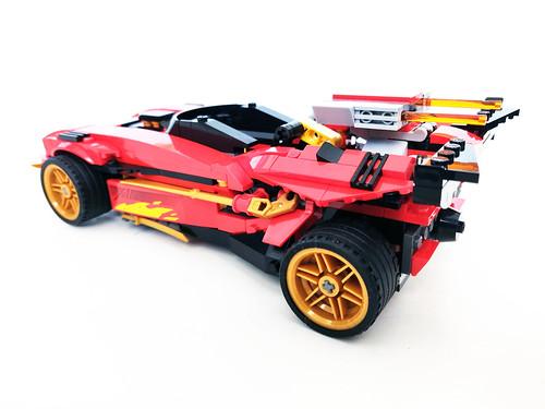 LEGO Ninjago Legacy X-1 Ninja Charger (71737)