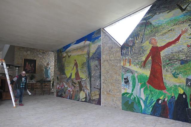 Freskos in Torre del Colle, Bevagna