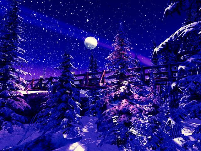 A Christmas Dream -Wooden Bridge Gorge