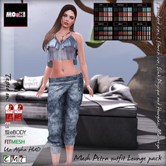 Petra outfit lounge pack