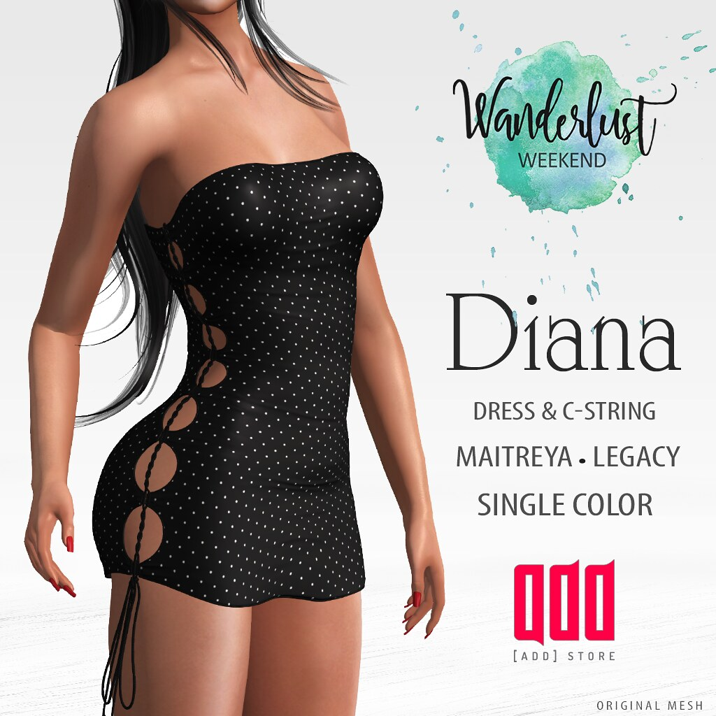 50 LS – [ADD] Diana Dress – Wanderlust  Event