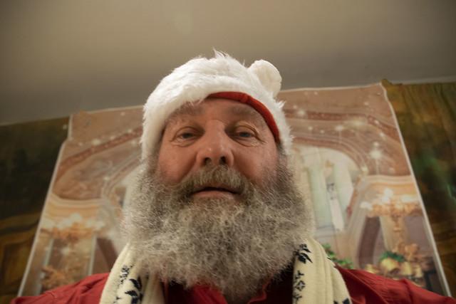 DSC_8535 MGS with Santa Claus Beard Ho Ho Ho!  Bah Humbug! Wishing you a Safe and Boring Christmas Cheers!