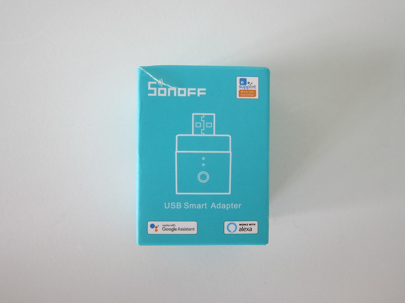 Sonoff Micro USB Smart Adaptor - Box Front