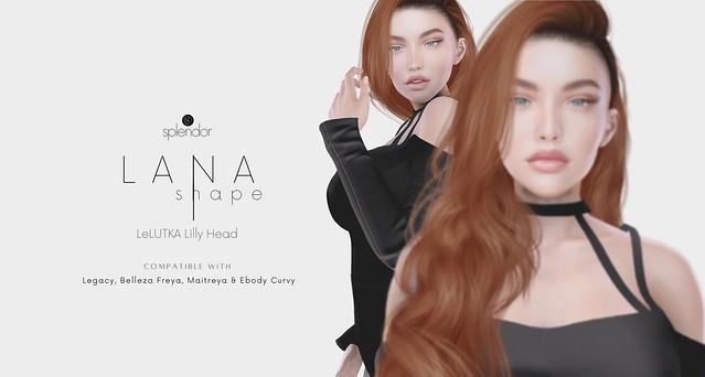 Splendor | Lana Bento Shape for LELUTKA Lilly Head