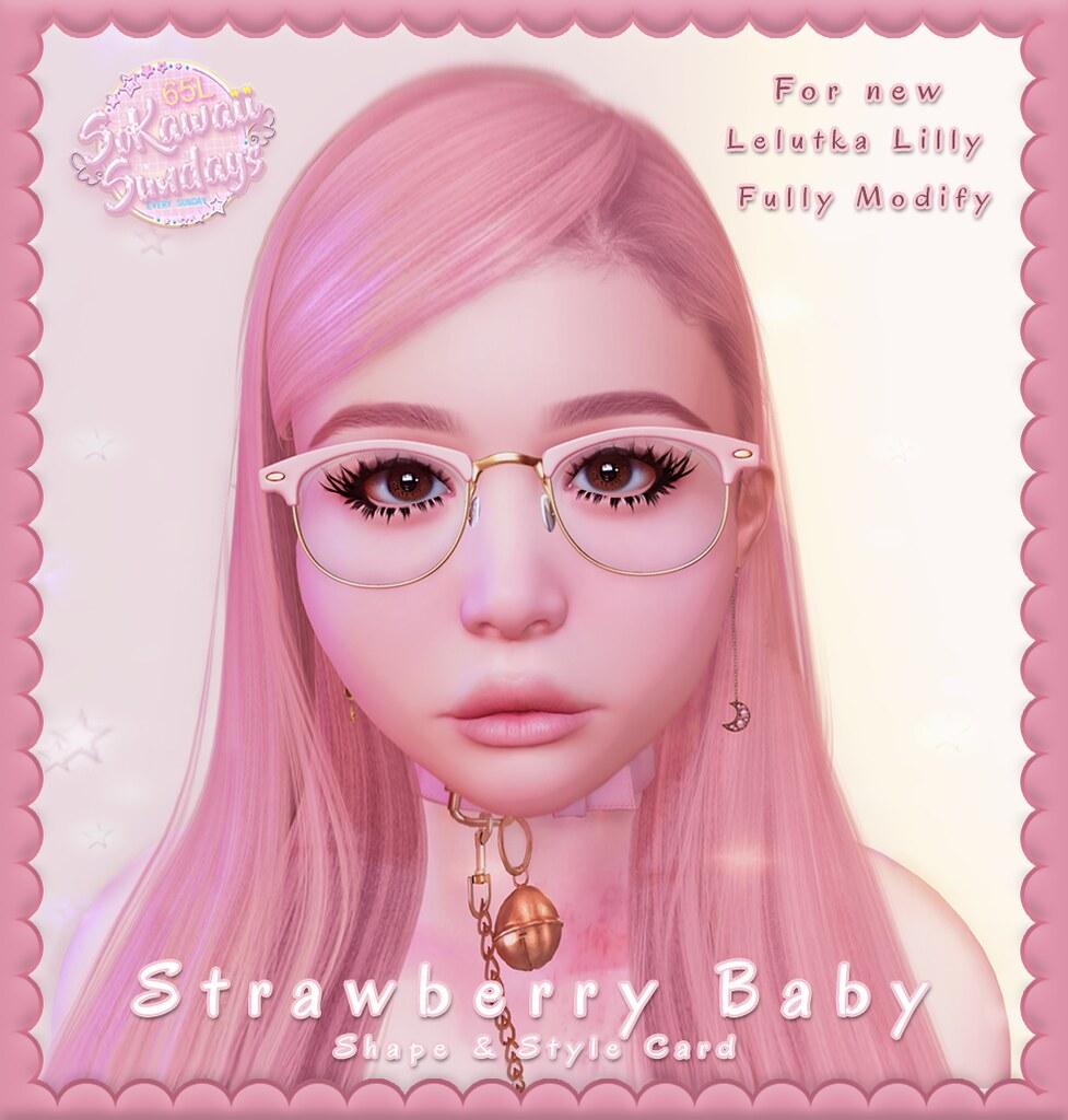 Dreamn Strawberry Baby Shape #SKS