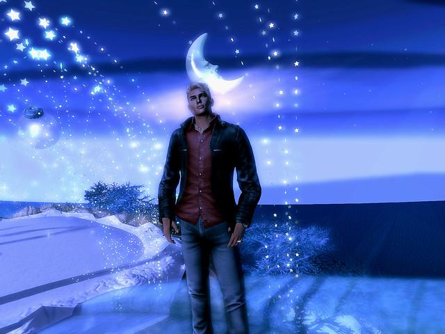 A Christmas Dream - Me & the Man On the Moon