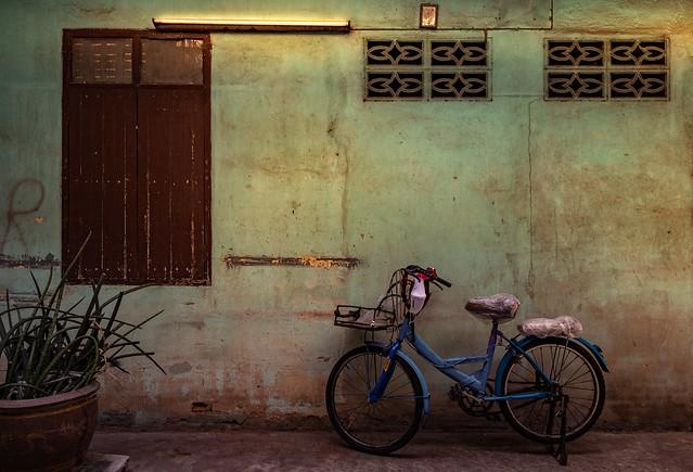 Bike in Alley