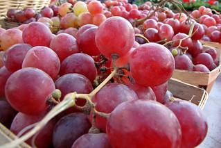 Grapes at Eastern Market