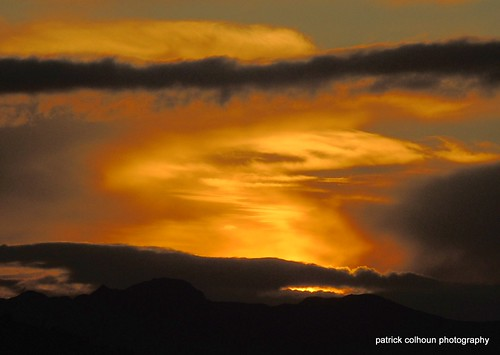 sunset night buncrana donegal ireland landscape inishowen nature clouds