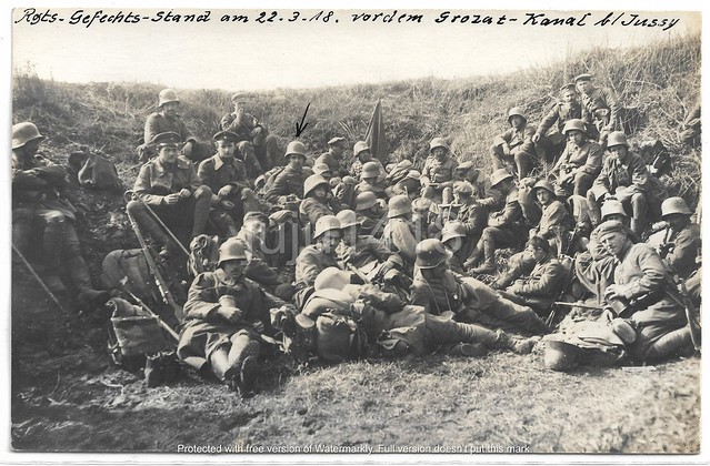 MARCH 22, 1918 REST AFTER THE OFFENSIVE