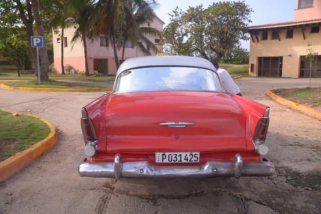 1955 Plymouth Belvedere four door sedan