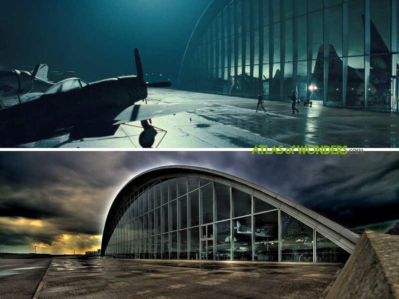 El hangar en Duxford