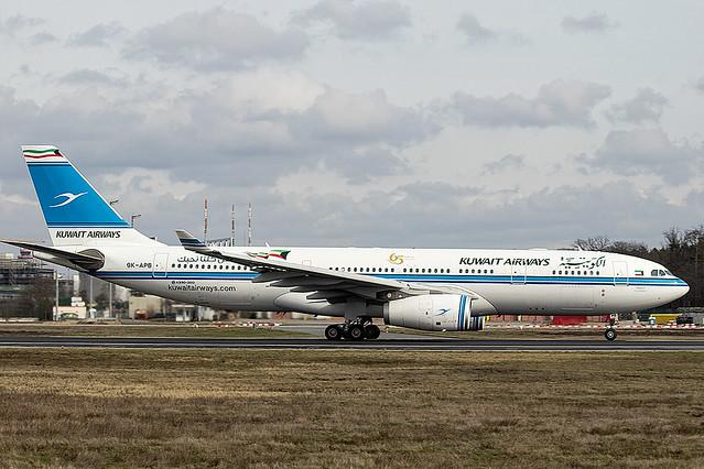 9K-APB | Kuwait Airways | Airbus A330-243 | CN 1643 | Built 2015 | FRA/EDDF 28/02/2020