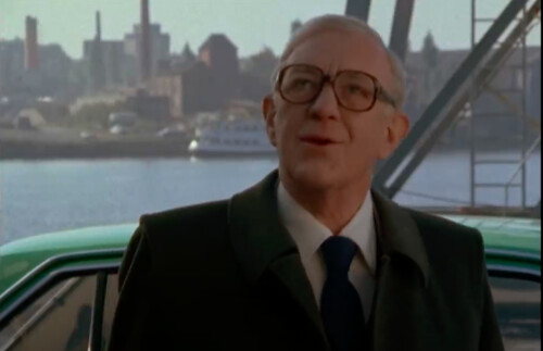 Alec Guinness, Smiley's People -- screenshot
