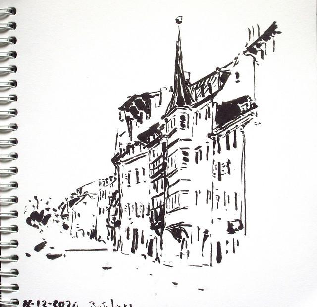 quai des Bateliers Strasbourg 26-12-2020