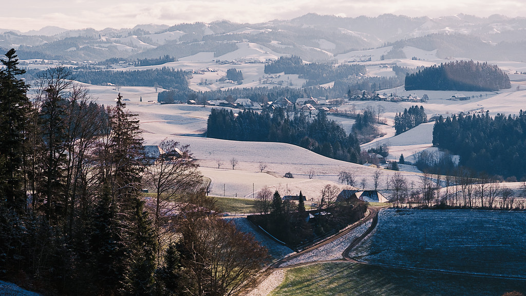 First Signs Of Winter @ Emmental