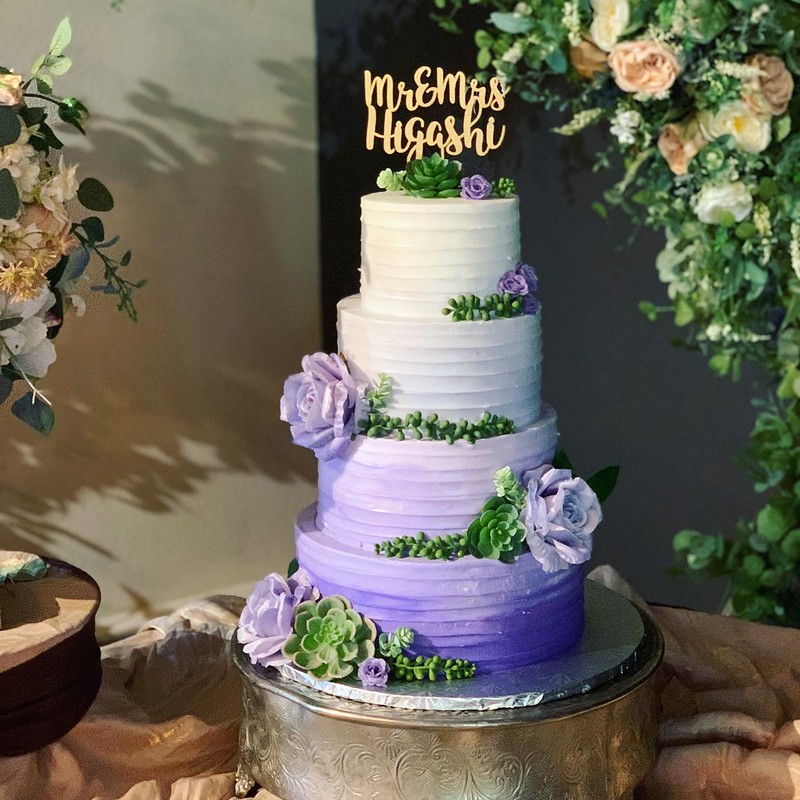Cake by Lakeview Bakery