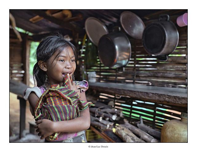 Petite montagnarde cambodgienne