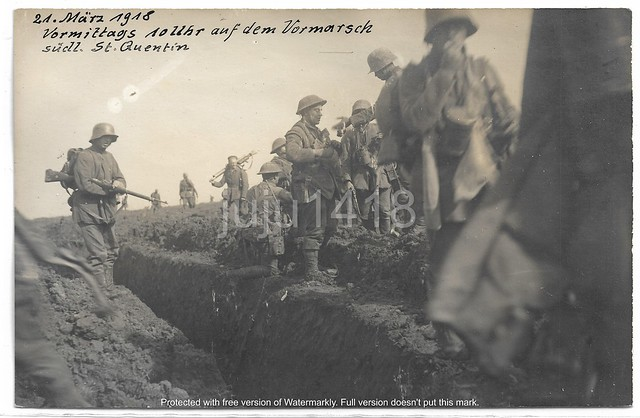 MARCH 21, 1918 AT 10 A.M. THE ATTACK