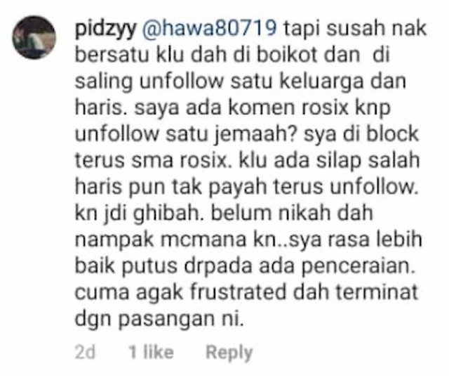 Ada Sebab Adik Beradik Neelofa Unfollow PU Riz, Netizen Terus Mencari Kepastian
