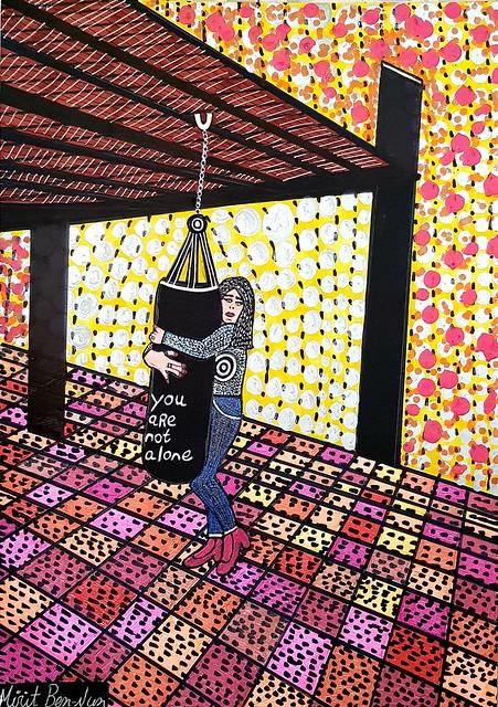 אמנות פמיניסטי מירית בן נון ציירת ישראלית אוטודידקטית מודרנית עכשווית