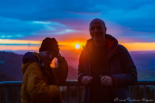 Sonnenuntergang auf dem Hagenturm