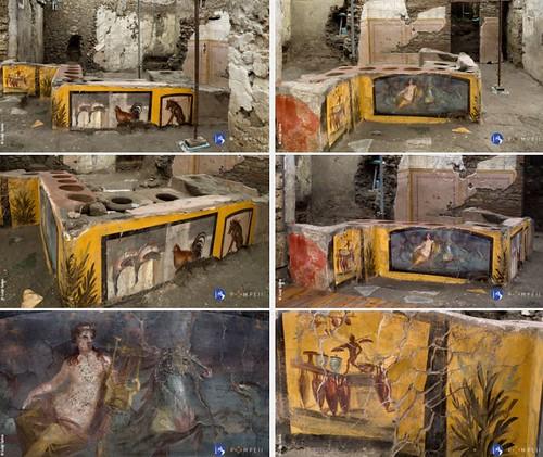 ROMA ARCHEOLOGICA & RESTAURO ARCHITETTURA 2020. NUOVA SCOPERTA A POMPEI, IL TERMOPOLIO DELLA REGIO V. MiBACT (26/12/2020) & foto di Lo Strillone T.V., (26/12/2020). S.v., Archivio - Storia degli scavi sui giornali stranieri (1904-2020).