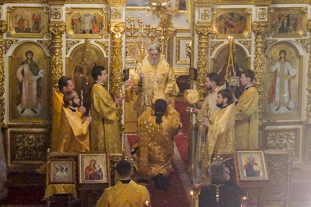 Митрополит Герман совершил Божественную литургию в Никитском храме 24.12.2020