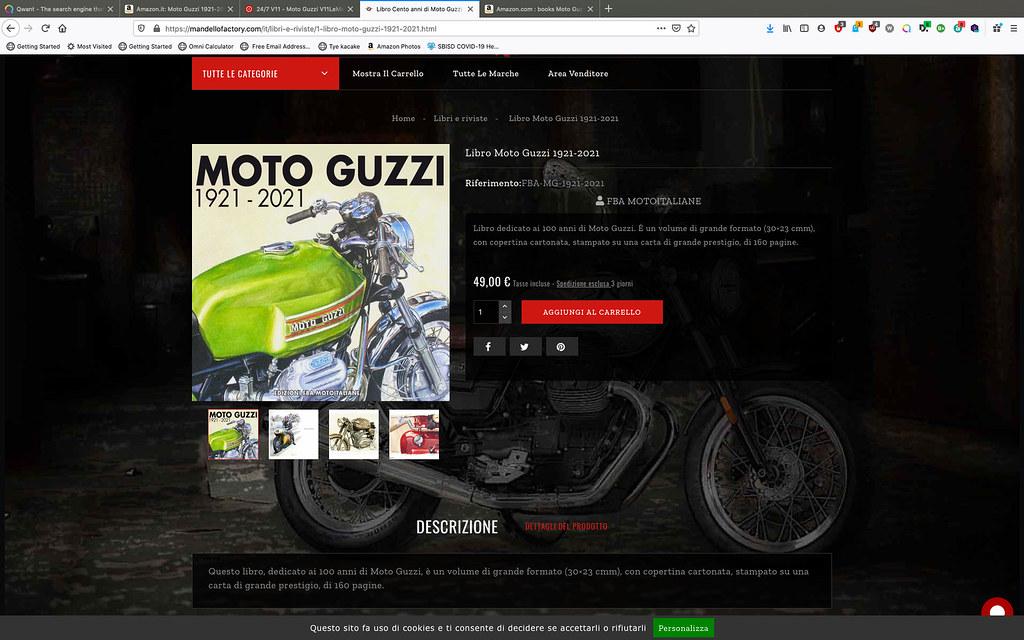 Moto Guzzi 1921 - 2021