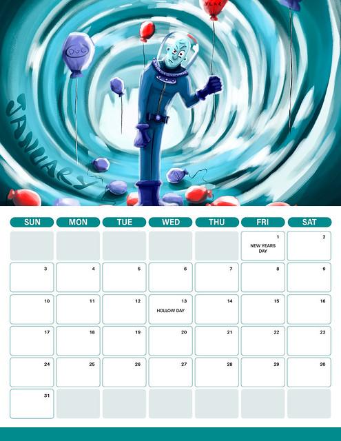 2021 Calendar2