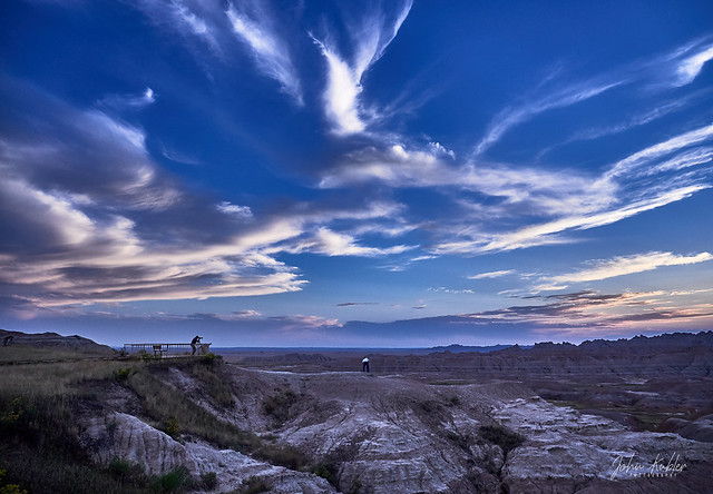Sunset 2 at the Badlands - EMB14169