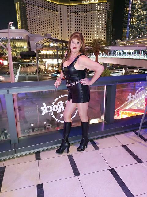 Leather, Legs + Las Vegas