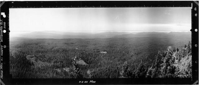 Horse Mountain Panorama SW