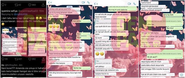 Viral Whatsapp Dakwa PU Riz, Neelofa Sudah Bernikah?
