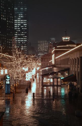 Quincy Market in Winter (1)