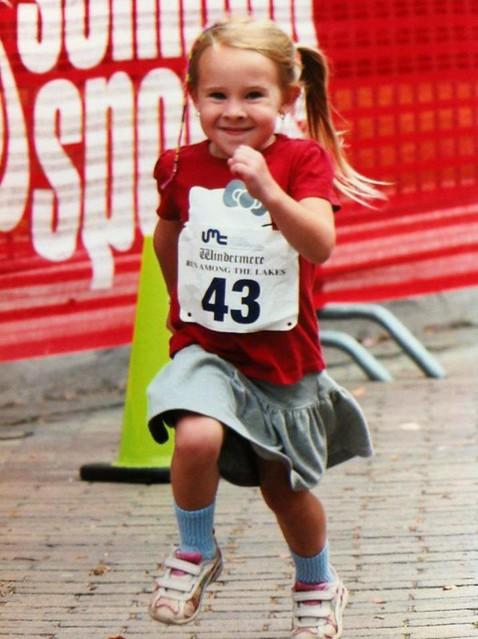 Run....... like a girl!!!! 😂