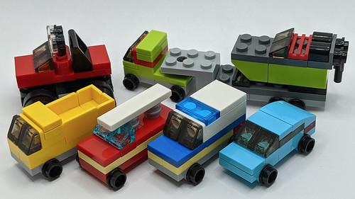 LEGO City Advent 2020 Cars & Trucks