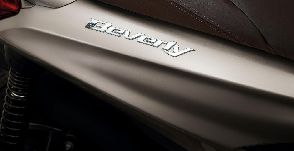 All New Piaggio Beverly Emblem