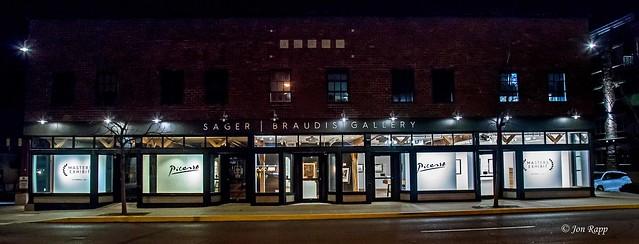 Sager Braudis Gallery, Columbia, Missouri 2 night (SBG) (edit)