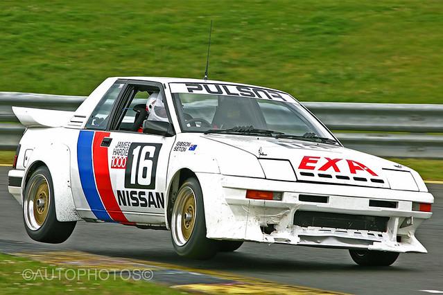 Justin Nilsson - Fast but fragile Nissan EXA Turbo -  Historic Sandown 2010 - IMG_7663A