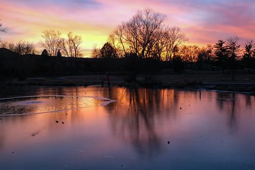 sunset nature december organic waterr 2020 outdoorrs