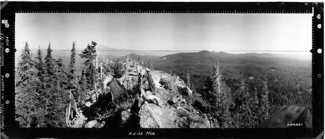 Horse Mountain Panorama SE