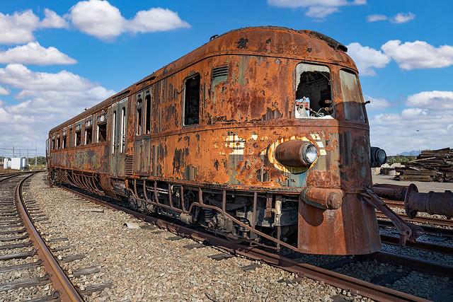 abandoned 654 DMU