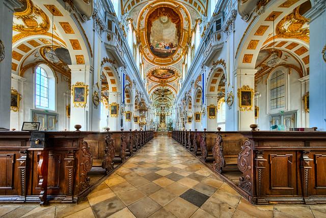 Oberelchingen ehemalige Klosterkirche St. Peter und Paul