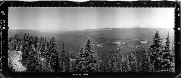 Horse Mountain Panorama North