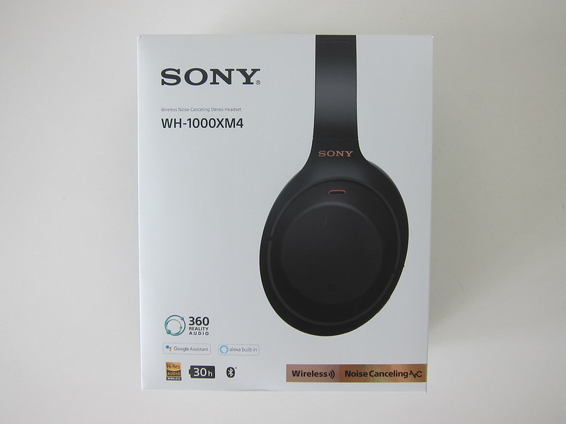 Sony WH-1000XM4 - Box Front