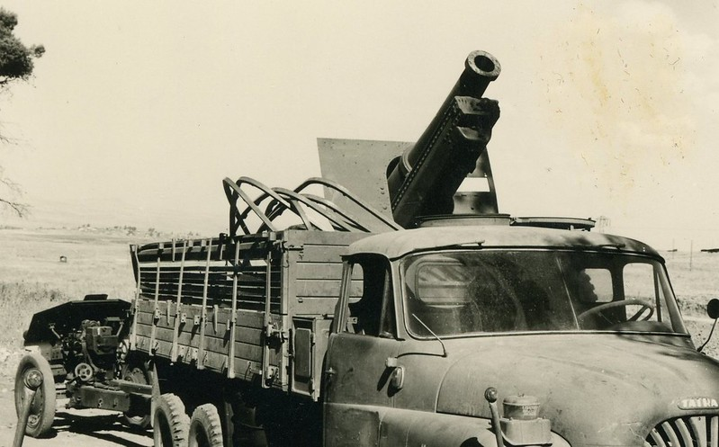 Tatra-138-Canon-de-155C-M1917-122mm-M30-golan-1967-vk-1